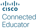 CISCO Connected Educator Logo